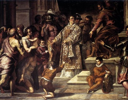 Painting of St. Lawrence